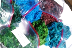 I always have dyed and natural mohair available. $3 per ounce plus shipping